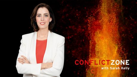 DW Conflict Zone Moderatorin Sarah Kelly (Artikelbild)