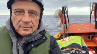 Miodrag Soric en el Ocean Viking