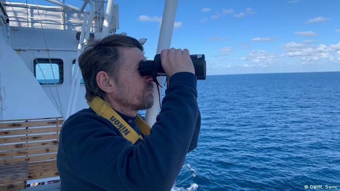 Begleitung der Ocean Viking auf dem Mittelmeer (DW/M. Soric)