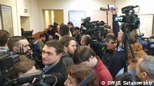 Russland Sankt Petersburg | Gerichtsverfahren gegen Frau mit Verdacht auf Coronavirus