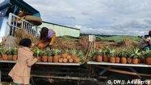 Deutschland-Markt in Huambo, Angola. Ort: Huambo, Angola Fotograf: José Adalberto / DW Datum: 2020