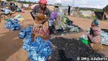 Deutschland-Markt in Huambo, Angola.