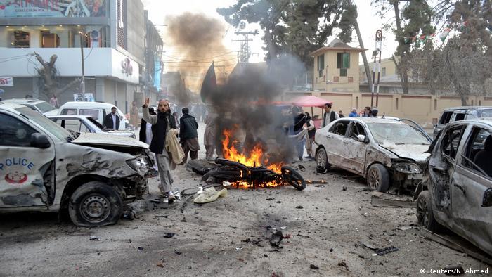 Pakistan Autobombe Anschlag Terror