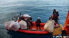 Rettungsteam der Ocean Viking
