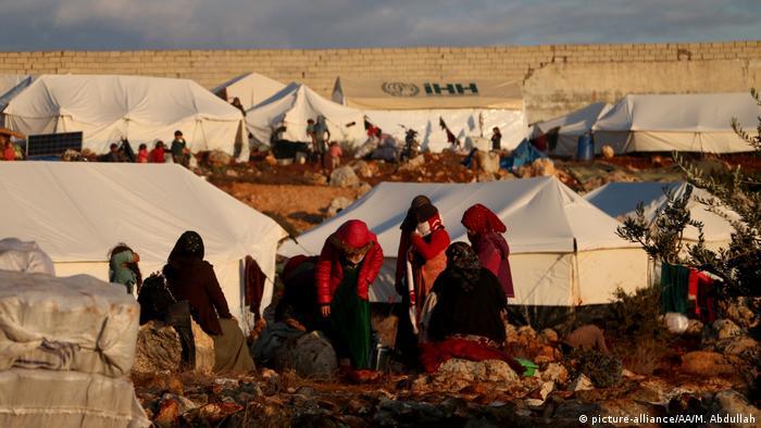 Syrien Winter in Idlib
