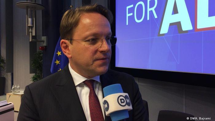 Oliver Varhelyi, EU Kommissionär