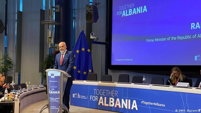 Edi Rama, Premierminister Albanien (DW/A. Bajrami )
