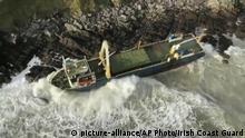 Irland Geisterschiff MV Alta