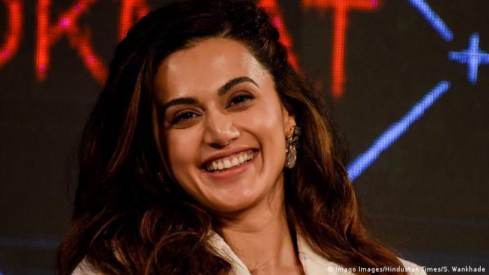 Indien Bollywood Schauspielerin Taapsee Pannu