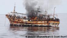 USA Alaska | Versenkung Geisterschiff Ryou-Un Maru, japanisches Fischerboot
