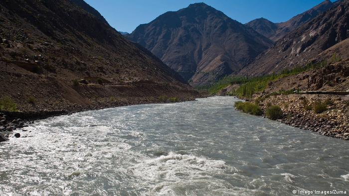 Indien Kaschmir Indus-Fluss