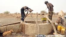 Mauretanien Beduinen an Brunnen