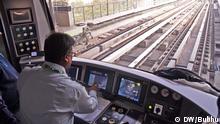 Indien Kolkata Neue East West Metro gestartet