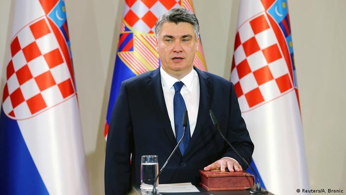 Novi predsjednik Republike Hrvatske Zoran Milanović