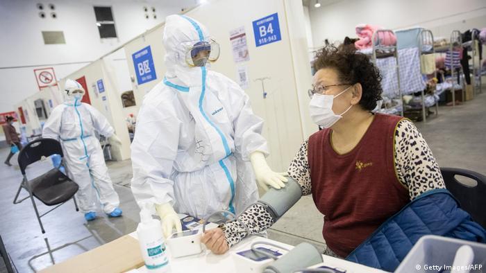 China Coronavirus Klinik in Wuhan