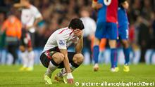 Fußball Barclays Premier League, Crystal Palace FC Liverpool FC