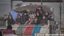 Syrien Flucht aus Idlib