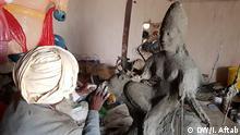Tharparkar, Sindh Pakistan, Januar 2020+++Hindu Idol Maker in Pakistan Sumar Mal is a Hindu sculpter artist from Tharparkar, Pakistan.