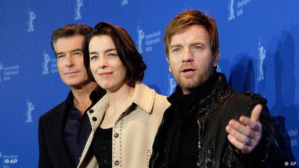 Berlinale 2010 Pierce Brosnan Olivia Williams Ewan Mcgregor Flash-Galerie