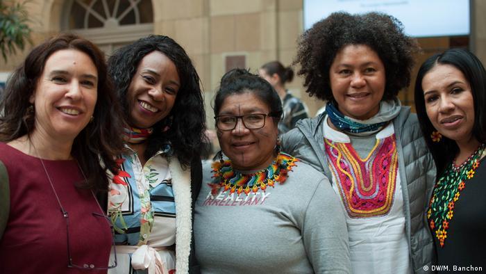 Representantes de las comunidades campesinas de Colombia.
