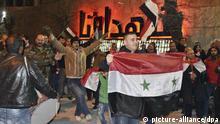 Das Leben in Aleppo nach der Eroberung der Stadt von Syrischen Truppen