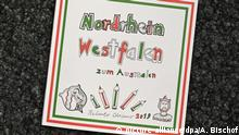 The cover of the far-right AfD's controversial coloring book: 'North Rhine-Wesphalia for coloring in'