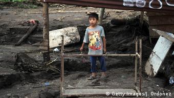 После оползня в Гватемале