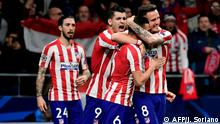 UEFA Champions League l Atletico Madrid v Liverpool FC | Torjubel (1:0)