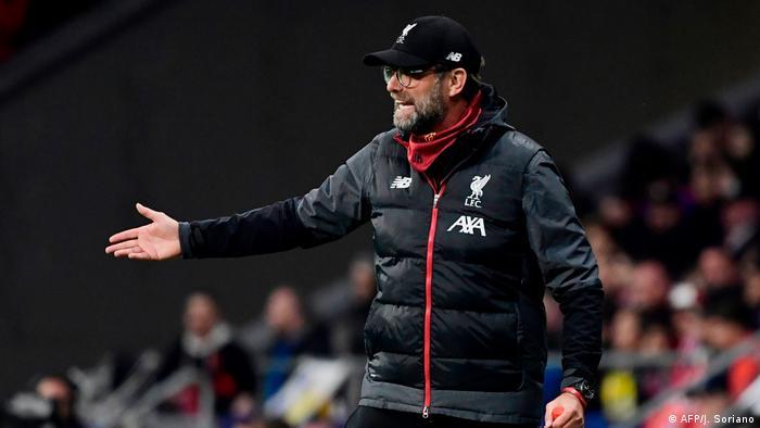 UEFA Champions League l Atletico Madrid v Liverpool FC   Jürgen Klopp