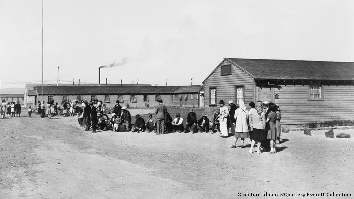 USA 2. Weltkrieg   Internierungslager für Amerikaner mit japanischen Wurzeln in Tule Lake