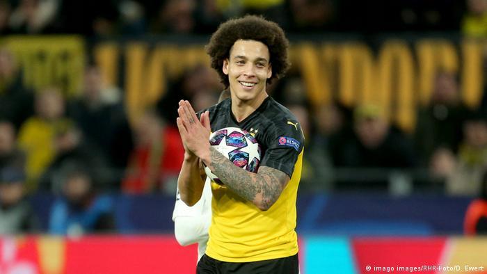 Borussia Dortmund's Axel Witsel (imago images/RHR-Foto/D. Ewert)