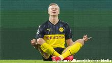 UEFA Champions League l BVB v PSG | Erling Haaland jubelt