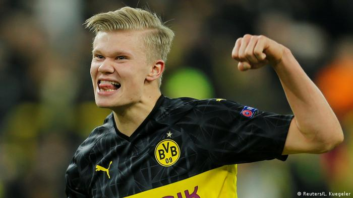Champions League: Borussia Dortmund's Erling Haaland announces himself on biggest stage