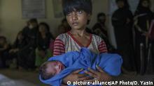 Opfer des Kinderklimas in Bangladesch