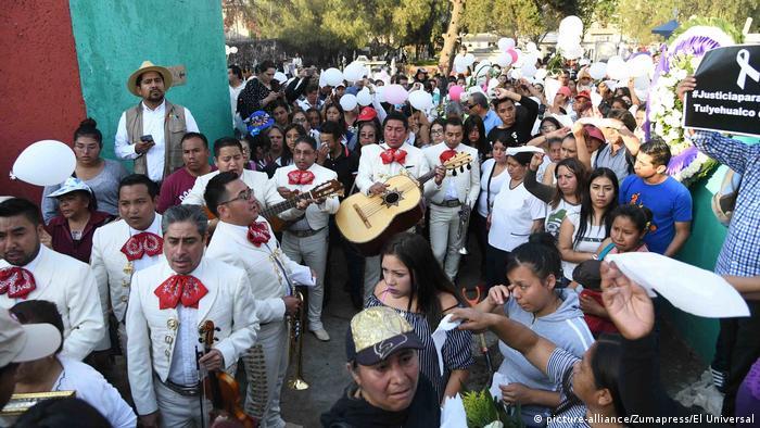 Mexiko Ermordung eines Mädchens