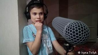 Що казати у мікрофон? Сцена з фільму