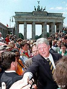 Bill Clinton in Berlin