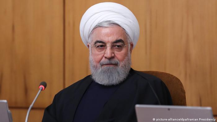 Iran Teheran Kabinettssitzung mit Präsident Hassan Rohani (picture-alliance/dpa/Iranian Presidency)