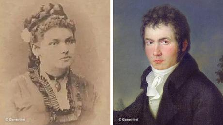 Kombo Minona von Stackelberg und Ludwig van Beethoven