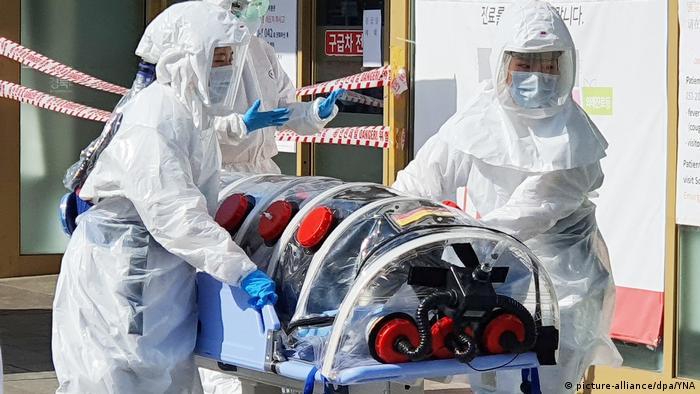 Südkorea Daegu | Coronavirus | mutmaßlicher Patient