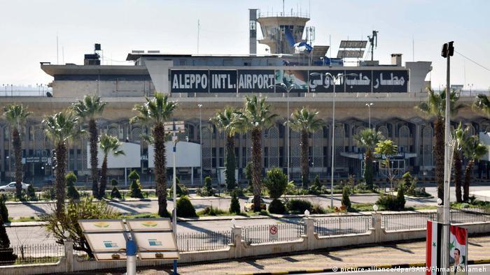 Halep Uluslararası Havalimanı (18 Şubat 2020)