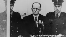 Israel Prozess gegen Adolf Eichmann