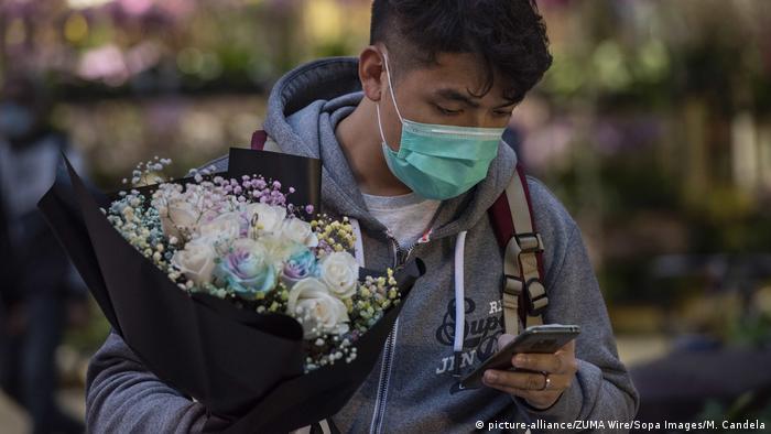 Hongkong Coronavirus breitet sich aus (picture-alliance/ZUMA Wire/Sopa Images/M. Candela)