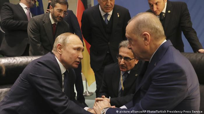 Deutschland Libyen-Konferenz (picture-alliance/AP Photo/Turkish Presidency Press Service)