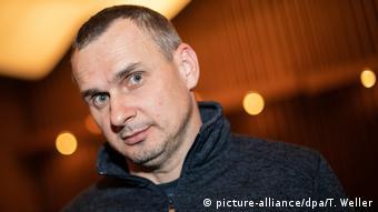 Ukrainian film director Oleg Sentsov