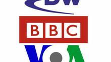 DW, BBC, VOA