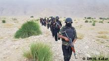19.02.2020 Security personnel conducting a search operation after a terror attack, February 19 on the outskirts of Turbat.