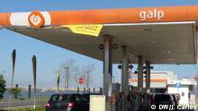 Portugal Galp-Tankstelle