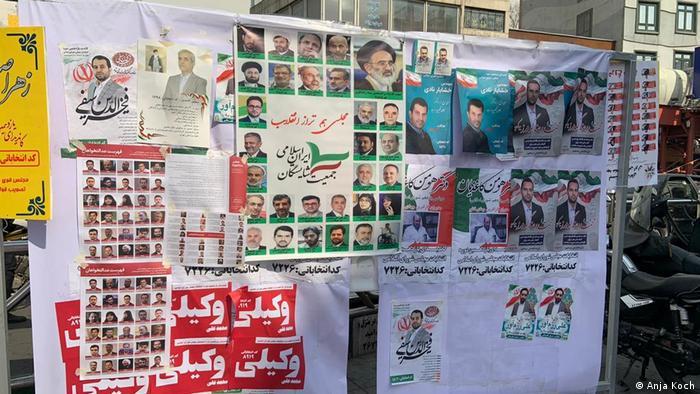 Iran Teheran | Wahlplakate