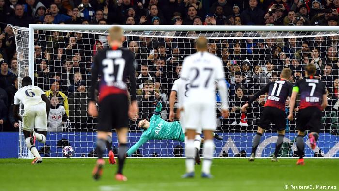 UEFA Champions League   Tottenham Hotspur v RB Leipzig   Tor 0:1 (Reuters/D. Martinez)
